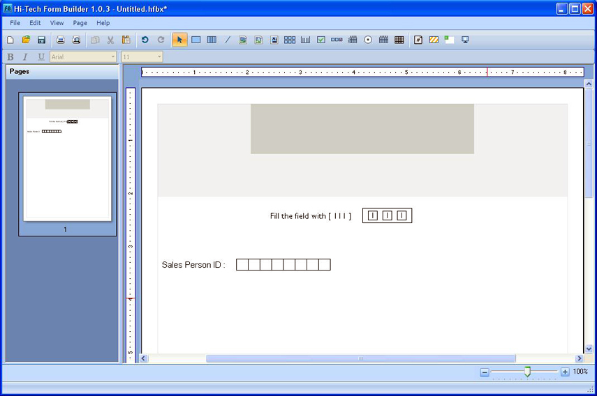 Form Builder Screen-2